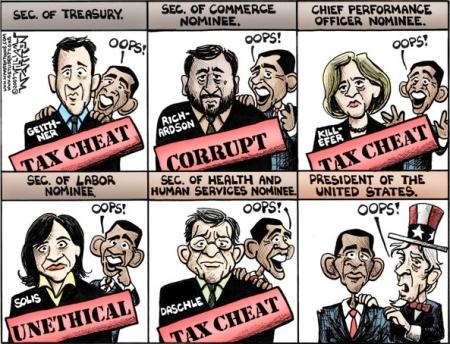 Obama Advisors, Oops!