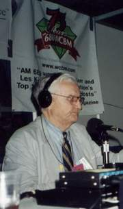 Broadcaster Les Kinsolving